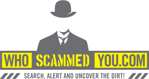Who Scammed You - Scam Site!